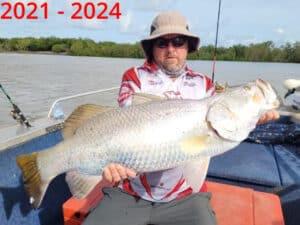 Fishing Barramundi Finniss PB 94cm March 2021 (1)